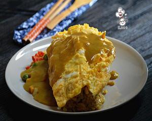 日式咖喱蛋包饭