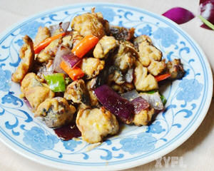 辣炒鲅鱼肉
