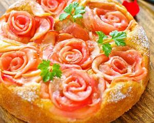 肉桂苹果花蛋糕