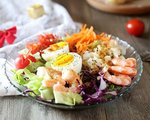 生抽蔬菜沙拉