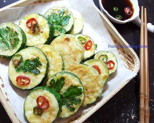 韩式栉瓜煎饼