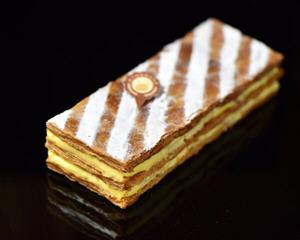 香草拿破仑蛋糕