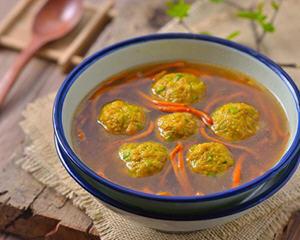 青豆丸子汤