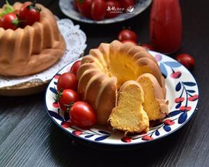番茄戚风蛋糕