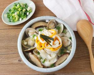 韩式蛤蛎汤面