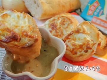 法式黄金洋葱汤