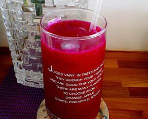 火龙果芭乐汁