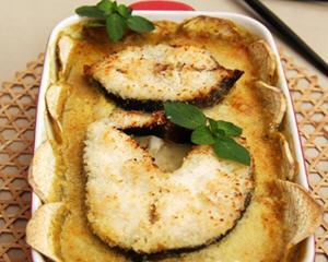 烤红薯鳕鱼排