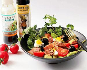 培根果干杂蔬沙拉