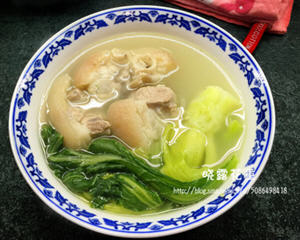 大芥菜煲猪脚