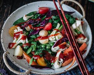 时令蔬果沙拉