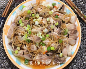 日式大根蒸鲷鱼片
