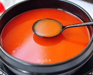 番茄米线汤底
