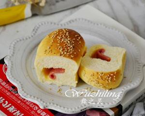 芝麻培根芝士面包