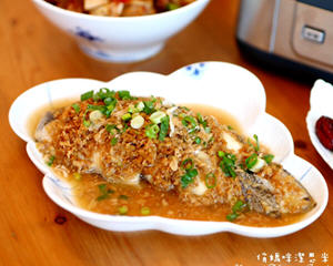 香蒜蒸鳕鱼蒸鲜锅版