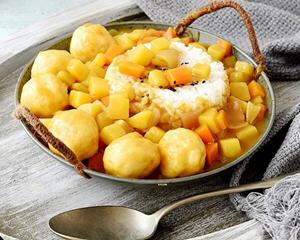 咖喱鱼丸最简单的做法