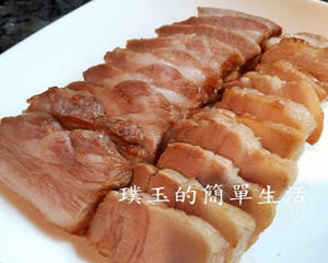 气炸锅炸咸猪肉
