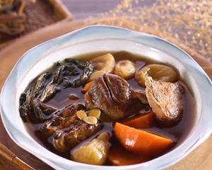 菜干蚝豉红萝卜汤