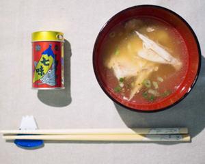 日式鱼头味噌汤