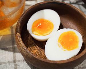 超简单完美半熟水煮蛋