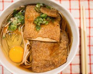 豆皮寿司的卤豆皮