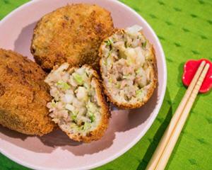日式炸肉饼