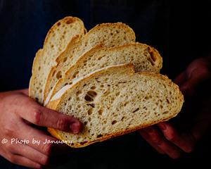 咸味黑麦面包