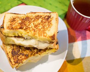 法式库克三明治