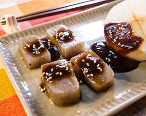 日式萝卜蒟蒻田乐