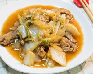 大白菜烧五花肉