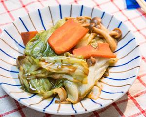 红味噌炒蔬菜