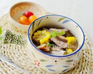 莲藕玉米炖排骨的家常做法