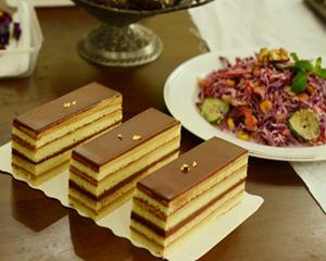 歌剧院蛋糕制作方法