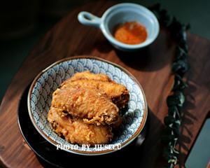 蒜香炸鸡翅家庭做法(带鸡翅腌制方法)