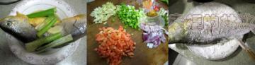 老干妈豆豉煎黄花鱼4