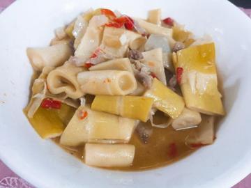 桂竹笋炒肉丝1