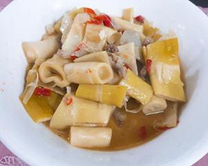 桂竹笋炒肉丝