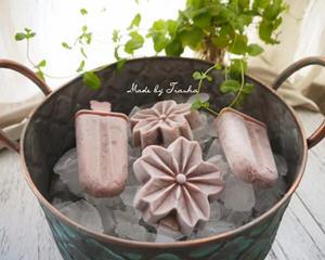简易版红豆牛奶冰棒