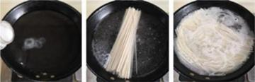 青菜荷包蛋煮面条3