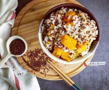 红藜麦南瓜蒸饭2