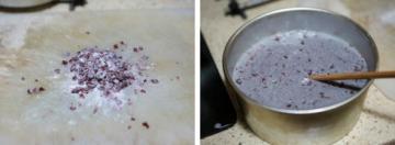 蔓越莓紫米糕3