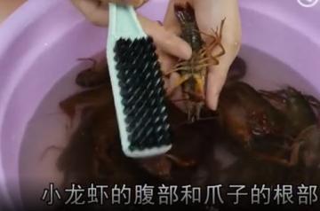 龙虾怎么洗简单又干净方法和窍门图解9