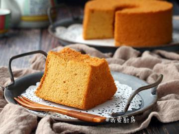 海盐焦糖戚风蛋糕简单做法1