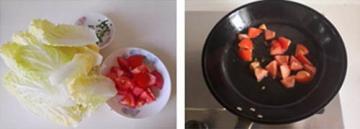 番茄炒娃娃菜4
