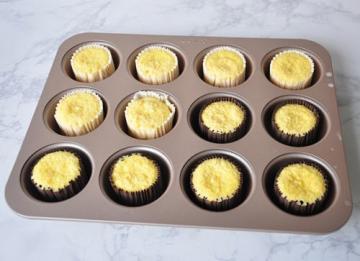 不用烤箱做的小米蒸蛋糕 4