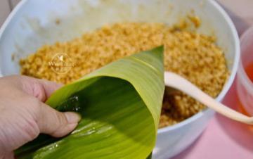 闽南肉粽子的做法和配料6