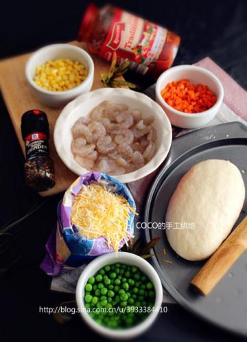 12寸纯手工虾仁披萨5