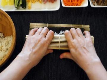 原味韩式紫菜包饭的做法与窍门图解3