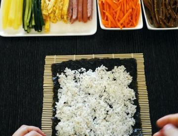 原味韩式紫菜包饭的做法与窍门图解5