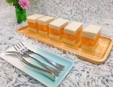 芒果椰奶果冻1